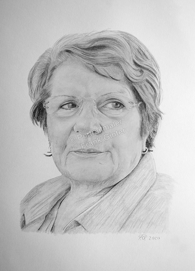 Bleistiftzeichnung, Portraitzeichnung Frauenbilder, Bleistiftzeichnungen mit Frauen, Bleistiftportraits vom Foto, Portraitzeichnungen nach Fotovorlage