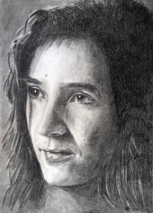 Kohlezeichnungen, Portraitzeichnung Mann, Kohlezeichnung, Portraitzeichner