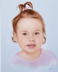Handgemalte Bilder, Portraitmalerei, Bilder malen lassen, Portraitmaler, Ölgemälde Kind, Portraitgemälde