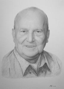 Bleistiftzeichnungen, Portraitzeichnung  von Fotos, Portrait zeichnen lassen, Portrait vom Foto mit Bleistift, Bleistiftzeichnung Mann