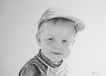 Bleistiftzeichnungen, Portraitzeichnungen, Kinder Portraits zeichnen lassen