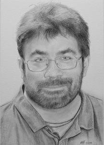 Bleistiftzeichnung, Portraitzeichnung, Bleistiftzeichnungen von Männern, Bleistift-Portraits, Portraitzeichnungen mit Bleistift