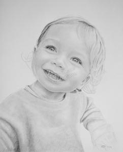 Bleistiftzeichnungen, Kinderportraits mit Bleistiften zeichnen lassen, Mädchenzeichnung, Kinderzeichnungen, Kinder mit Bleistiften gezeichnet, Kinderzeichner