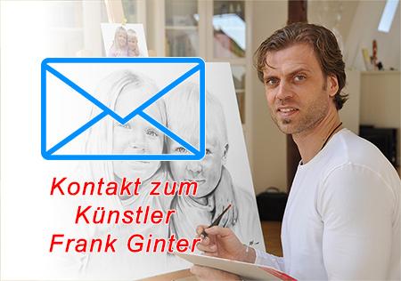 Portraitmaler und Portraitzeichner Ginter