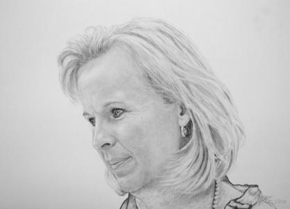 Bleistiftzeichnungen mit Frauen, Frauenzeichnung, Frauenzeichnungen, Frauen Portraits mit Bleistift, Frauenbilder gezeichnet